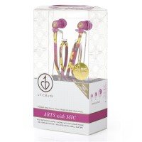 Earbuds with Microphone ChicBuds Arts Leandra