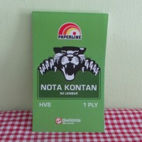 Buku Nota Kontan 1 Ply Paperline