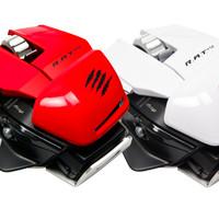 PC MCZ R.A.T.M Mouse (White / Red / Glossy Black / Mattle Black)