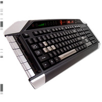 PC MCZ S.T.R.I.K.E.3 K/B US (White / Red / Glossy Black)