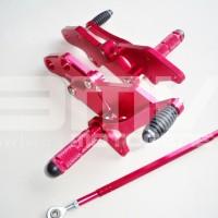 FOOTSTEP DEPAN / UNDERBONE VIXION NEW (LIGHTING / ADVANCE) CNC RED