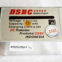 Baterai SMARTFREN ANDROMAX I2 / ANDROMAX i 2 DSBC