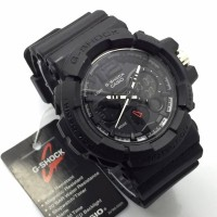 harga Jam Tangan Casio G-shock Ga-200 Black ( Jam Pria,timex,digitec,sport ) Tokopedia.com