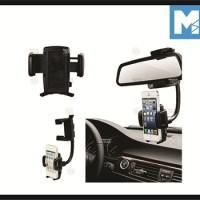 PEGANGAN HP MOBIL CAR REARVIEW MIRROR HANDPHONE HOLDER B56