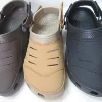 Sandal Sepatu Crocs Yukon Leather