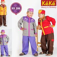 Baju Koko anak KeKe KK 286 no. 4