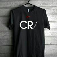 tshirt/t shirt/kaos nike CR7 (black)