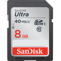 SD Card SDHC Sandisk Ultra Class10 8 Gb 40 MB / S Memory Card Camera