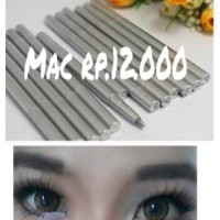 eyeliner silver bawah mata puter aigner MAC