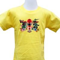 harga Kaos Power Rangers (1) Size Anak 2, 3 Dan 4 Tokopedia.com