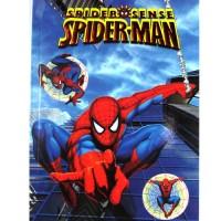 BKT01 - Buku Tulis Buku Memo Buku Catatan Buku Harian Stiker Spiderman