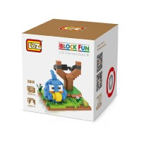 Loz Lego Nano Block Angry Bird Blue