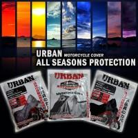 URBAN Cover Body Sepeda Motor Kualitas Tinggi Tahan Air Hujan & Panas Matahari