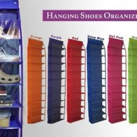 harga rak sepatu gantung minimalis hanging shoes rack Tokopedia.com