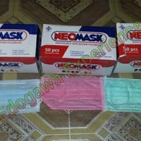 NEOMASK Earloop mask masker warna