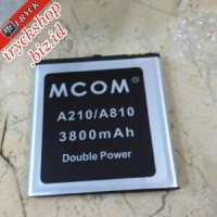 Baterai Battery Batre Mito A210 A810 Dobel Power Mcom 5000mah