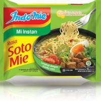 Indomie Soto Mie - Mi Instan Indomie Kuah - Rasa Soto Mie