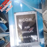 Baterai Battery Mito A68 Fantasy Power Mcom 6000mah
