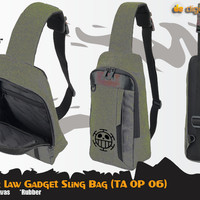 Trafalgar Law Gadget Sling Bag (Tas One Piece - TA OP 06)