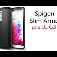 Casing Spigen Sgp Slim Armor Lg G3 Case Aksesoris