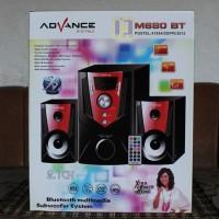 Speaker Aktif ADVANCE M680BT Bluetooth