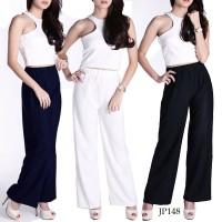 PROMO! Basic Long Cullotes Pants Celana Kulot Panjang Wanita JP148-