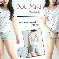 Dotty Miki Lowback