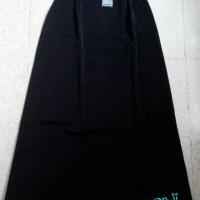 rok span panjang XL-L4/ rok bahan/ rok kerja/ rok hitam