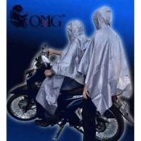 Jas Hujan Pasangan OMG Ponco Couple (1 jas Hujan Dua kepala ) / Japan
