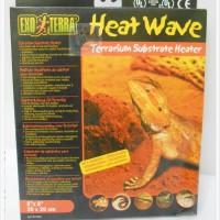 heat wave 20x20cm -torto gecko reptil-