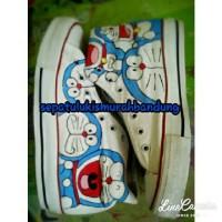 harga Sepatu Lukis Doraemon Sneaker Tokopedia.com