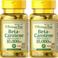 PURITAN PRIDE BETA - CAROTENE PROVITAMIN A 100 SOFTGEL USA