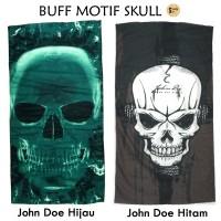 harga Buff Bandana Slayer Masker Motif Skull Tengkorak John Doe Tokopedia.com