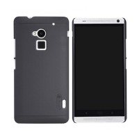 Hard Case Htc One Max Merk Nillkin Original Warna Hitam