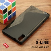 Lenovo Vibe Shot Z90 Soft Jelly Silicon Silikon Case Softcase Hitam