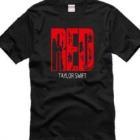 kaos taylor swift red
