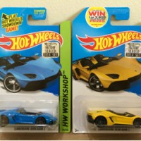 Hot Wheels Paket Lamborghini Aventador J Factory Sealed