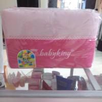 tas bayi baby king pink ukuran tanggung kecil besar babyv