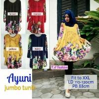 ayuni jumbo tunik ori FA / supplier blouse muslimah
