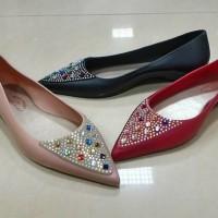 harga Sepatu Jelly Bara Bara Flat Shoes Lancip Cantik Tokopedia.com