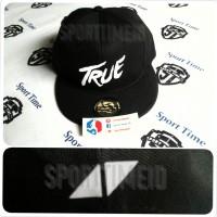 Jual Snapback Avicii True - Black / White Murah