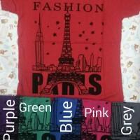 harga 00539-44 Kaos Fashion Paris (LD+- 80cm) Tokopedia.com