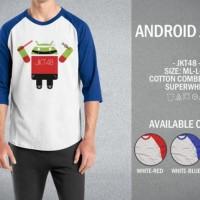 Raglan - Android JKT48; Cindy Gulla; Melody; Nabilah; Shania