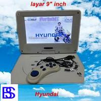 "Dvd Portable Layar 9"" Inch Hyundai"