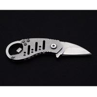 Multifunctional EDC Key Knife Survival Tool Stainless Steel Swiss Army