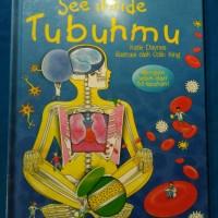 Lift the flap -  See inside Tubuh mu -  Hard cover baru segel