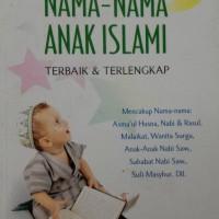 Ensiklopedia Nama-Nama Anak islami lengkap