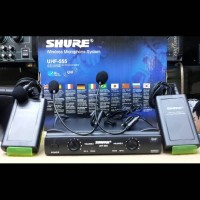 harga Mic Uhf Wireless Shure Ut 42 Ll Double Mic Clip On & Headset Tokopedia.com