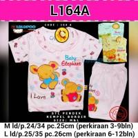3-12 bulan Good Quality L164A setelan baju kaos bayi/anak perempuan