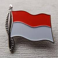 Pin Bendera Merah Putih